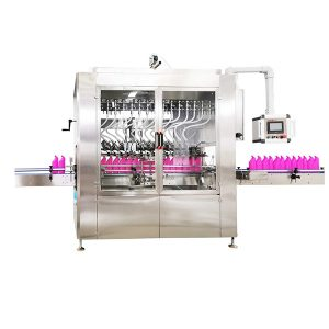 Gravity Type Angled-Neck Bottle Liquid Filling Machine