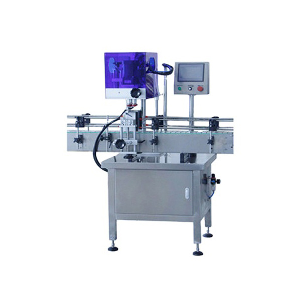 Automatic 4 Wheels Bottle Capping Machine