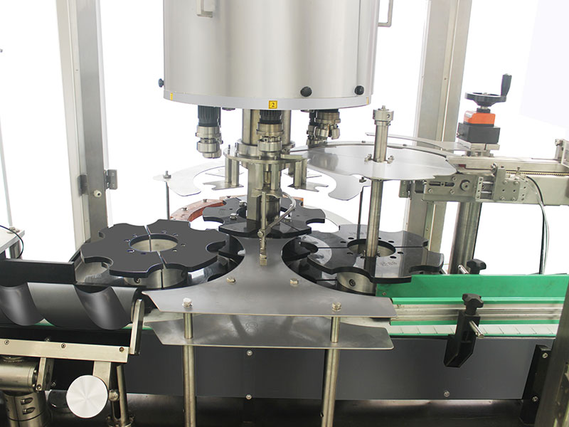 Automatic 6 Head Rotary Capping Machine Details