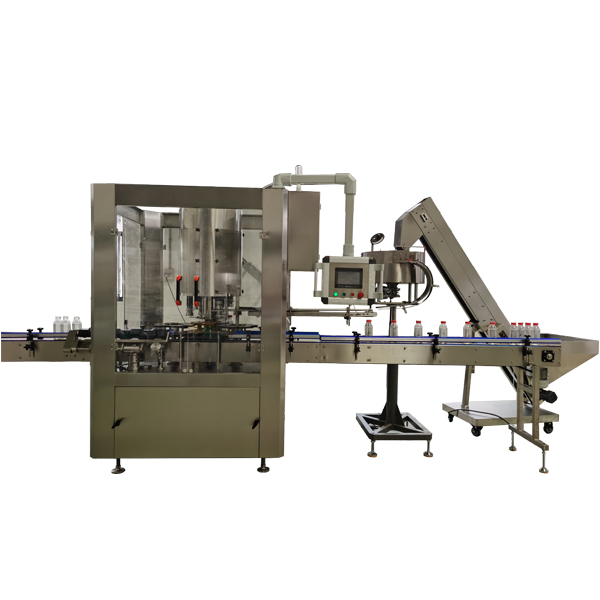Automatic 6 Head Rotary Capping Machine