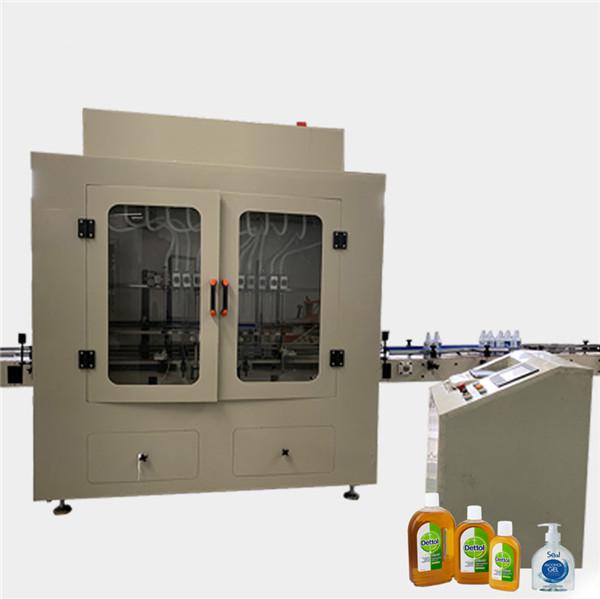 Automatic Anti Corrosive Viscosity Bottle Toilet Cleaner Liquid Filling Machine