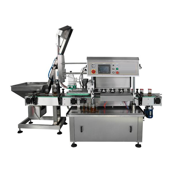 Automatic Twist-Off Vacuum Capping Machine