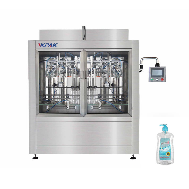 Automatic Disinfectant Piston Filling Machine