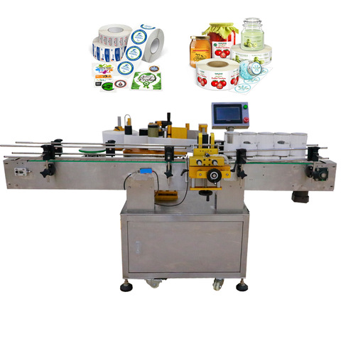 High Speed Rotary Adhesive Sticker Labeling Machine for Square Round Bottle
