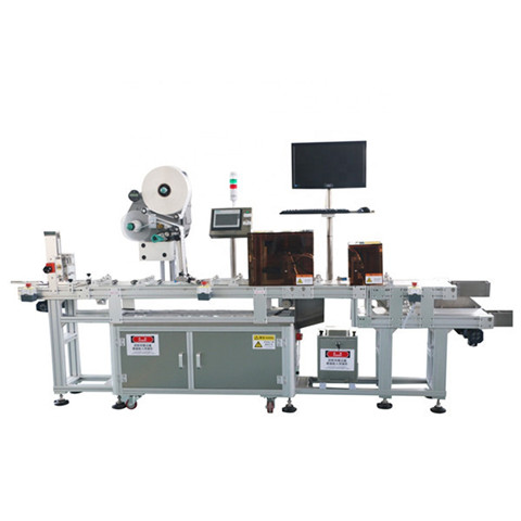 Big Discount Packing Filling Capping Machine Label Applicator Manufacturer Round Bottle Cylinder Cylindrical Adhesive Sticker Labeler