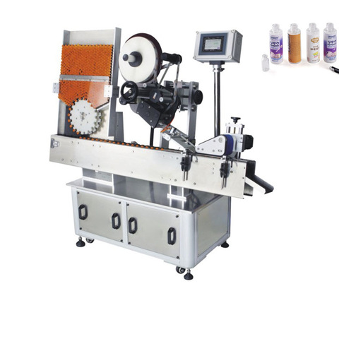Js-A2-500 High Quality Auto Pet Round Bottle Sleeve Shrink Labeling Machine
