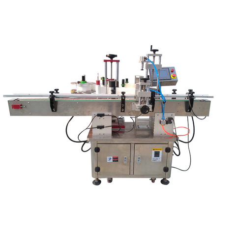 Mt-220 Automatic Flat Label Applicator Machine for Flat Box Plastic Bag Paper Pouch with Date Coder