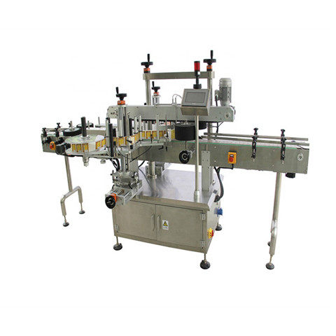 Automatic Card Pagination Labeling Machine for Empty Paper Bag with Date Printer