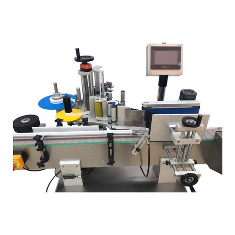 Automatic Doybag/Card/ Hang Tag Sticker Flat Top Labeling Machine with Feeder