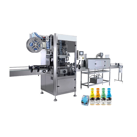 Auto Tabletop Cosmetic Sticker Cup Jar Labeling Machine