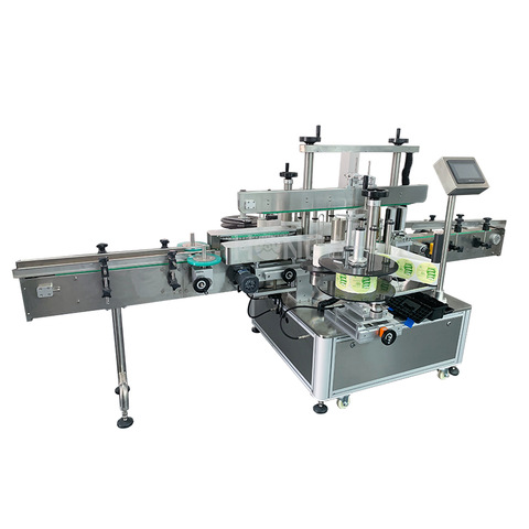 Full Automatic Small Bottle Filling Capping and Labeling Machine