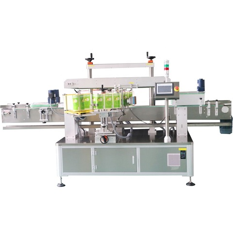 Factory Wholesale Folding Carton Box Pharma Box Adhesive Sticker Temper Packing Automatic Sealing Corner Labeling Machine
