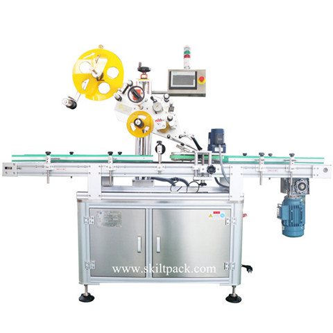 Small Bottle Labeling Machine / Shrinking Sleeve Used Bottle Labeler Machine