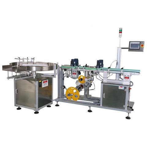 China Manufacture Automatic Small Powder Bottle Labeling Machine