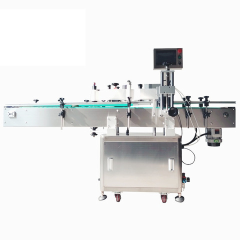 Automatic Rotary Bottle OPP Hot Melt Glue Label Sticker BOPP Roll-Feed Labeler Labeling Sealing Packing Packaging Machine