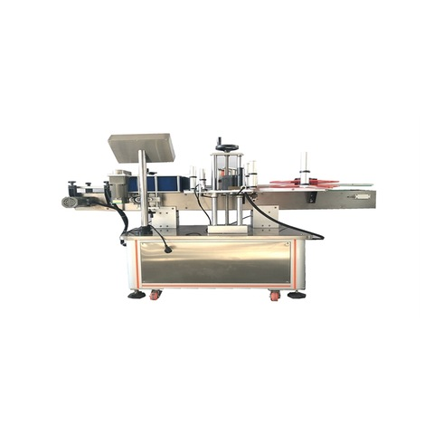 Hzpk Semi Automatic Labeling Small Bottle Machine