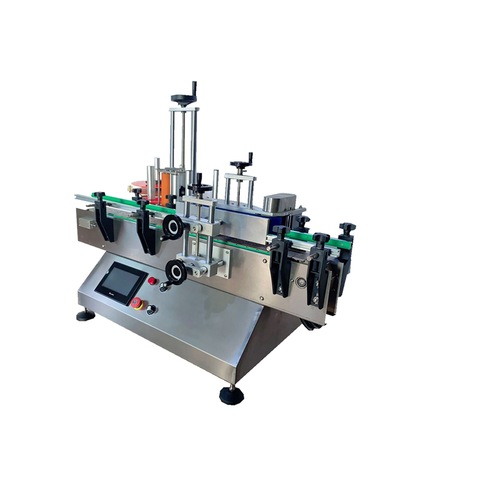 Plastic Bag Label and Flat Labeling Machine Automatic