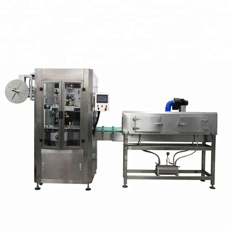 100b/Min Small Bottle Pet Bottle Shrink Labeling Machine