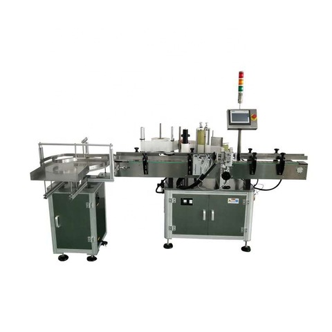 Paper Label Auto Glass Vial Labeling Machine