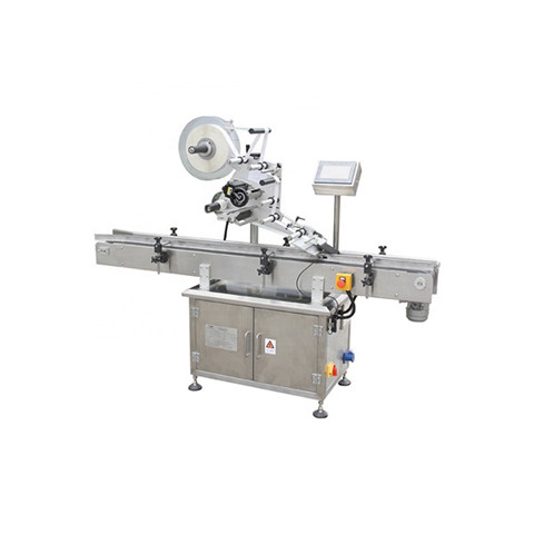 Small Glass Bottles Sticker Labeling Machine with Coding Printer