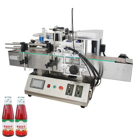 Hero Brand Paper Bag Automatic Fruit Sauce Bottle Cup Shrink Auto Vodka Labeling Machine