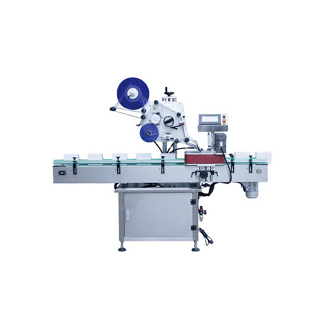 Automatic Food Cosmetic Double Side Bottle Sticker Labeling Machine