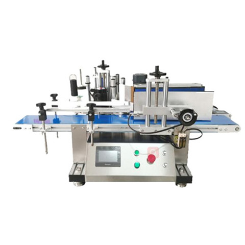 Double-Sides Adhesive Sticker Labeling Applicator Machine