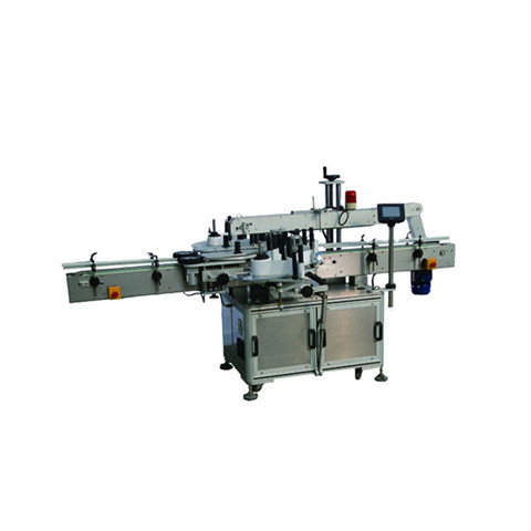 Semi-Automatic Soap Packing Glue Labeler/Snack Packing Box Label Glueing Machine/Packing Bag Film Sticker Labeling Machine