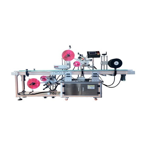 Hzpk Small Vial Glass Plastic Bottle Auto Labeling Machine
