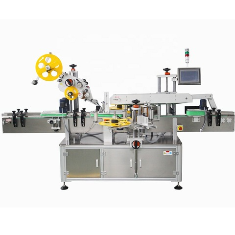 Double Side Labeling Machine Flat Square Round Bottle/Sticker Labelling Machinery