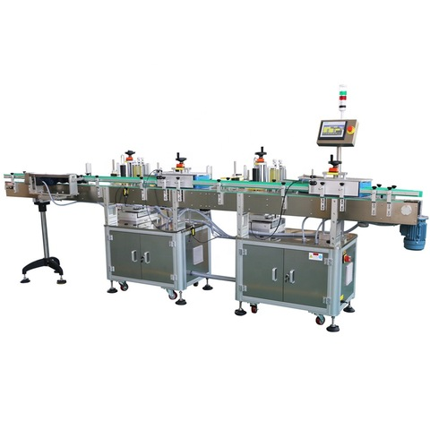 Two Side Labeling Machine Flat Square Round Bottle/Sticker Labelling Packing Filling Capping Machine Label Applicator Manufacturer