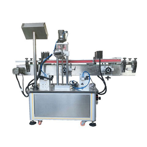Fully Automatic Hot Melt Glue OPP Pet Flat Round Plastic Bottle Square Bottle Carbonated Drink Juice Beverage Drinking Water Bottle Labeling Packing Machine