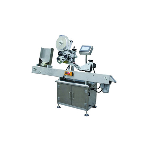 Full Automatic Double Sides Sticker Labeler Applicator Labeling Machine
