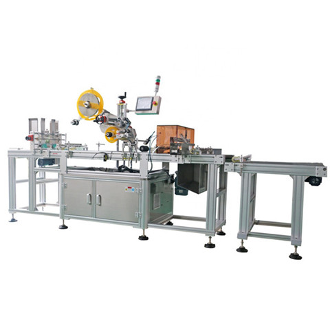 Best Sales Fully Automatic Sticker Labeling Machine for Self Adhesive Beverage Bottle Glass Bottle Juice Bottle