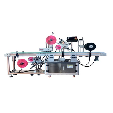 Small Scale Automatic Bottle Label Shrink Machine / Shrink Sleeve Applicator Machine