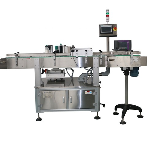 Flat Bottle Double Sides Labeling Machine for Various Flat Square Bottle Jar
