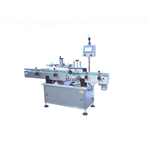 Automatic Double Side Adhesive Sticker Labeling Machine for Pet Bottles