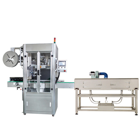 Automatic Carton Two Side Labeling Machine 1-5 Gallon Barrel Sticker Label Machine for Square Bottle