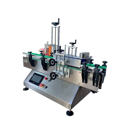 Automatic Hot Melt Glue OPP BOPP Round Glass Pet Bottle Label Sticking Labeling Labeller Packing Labeler Packaging Sticker Machine