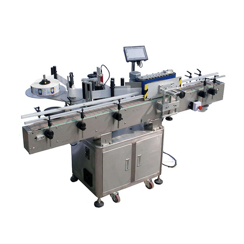 Linear Adhesive Labeling Machine Label Machine for Film Plastic Bag
