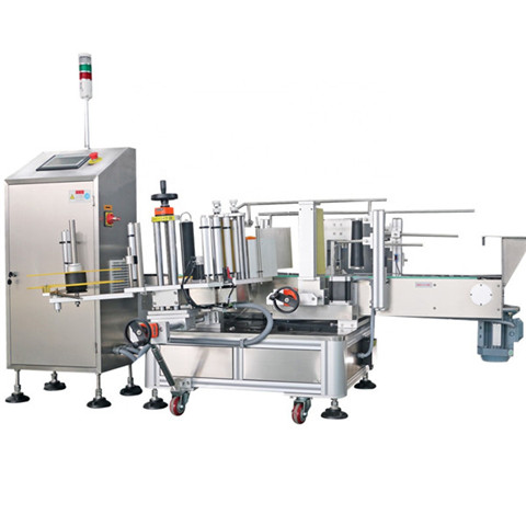Automatic Sticker Labeling Machine for Glass Bottle and Pet Bottle