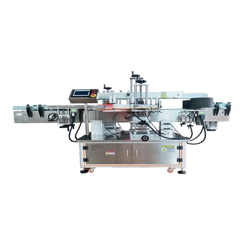 Mzh-L Semi Automatic Horizontal Beer Drinks Round Bottle Labeling Machine with Ce ISO