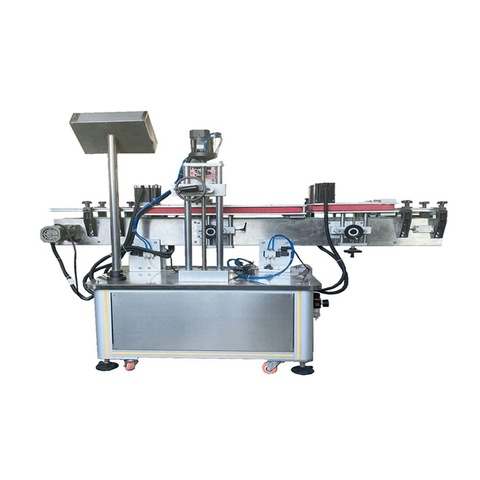 Tabletop Round Liquid Bottle Labeling Machine Small Automatic Labeling Machine