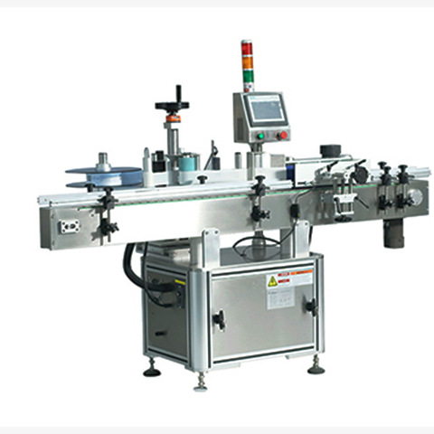 Automatic 6000-18000bph Pet/Glass Bottle Single/ Double Heads Shrink Sleeve Labeling Machine