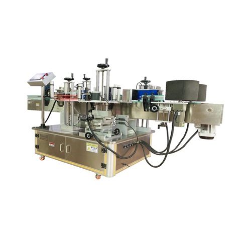 Square Bottle Four Side Full Wrap Labeling Machine