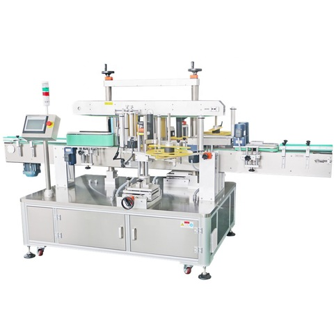Bottle Label Sticking Machine / Adhesive Auto Small Round Labeling Machine