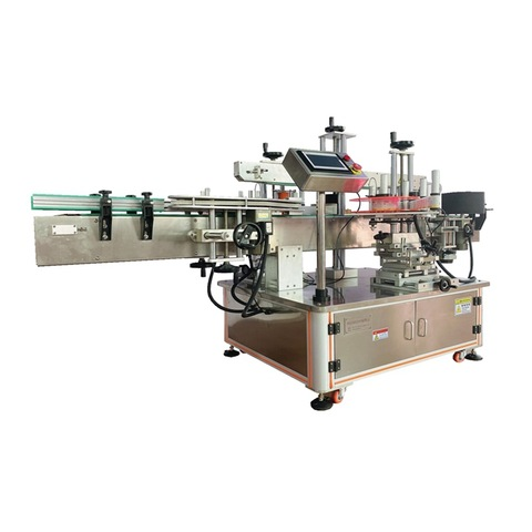 Square Bottle Wrap Around Label Applicator Machine