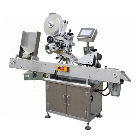Automatic Top Side Paper Box or Carton Box Labeling Machine