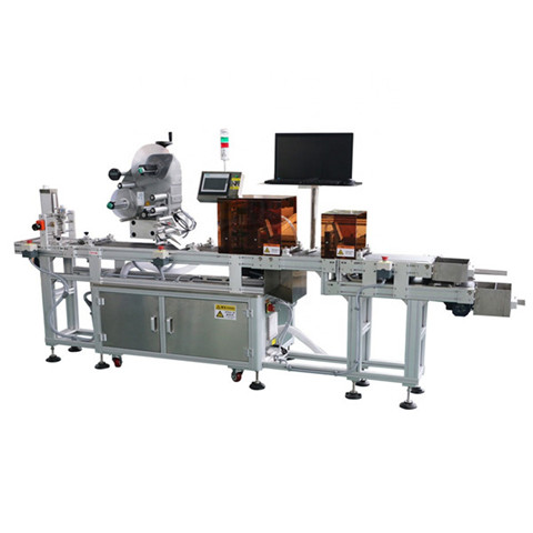 Automatic 750ml Beer Bottle Labeling Machine with Two Label Sticker Glass Bottles Labeler