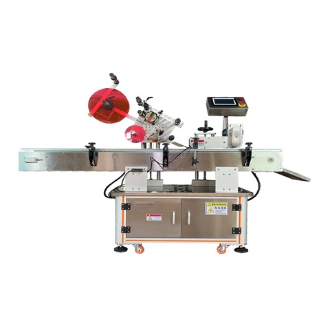 Cold Glue Paper Label Labeling Machine for Beer Wine Jam Paste Sauce Glass Bottle